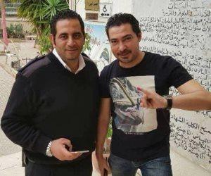 بركوتة يدلي بصوته في انتخابات الرئاسة بلجنته بمدينة نصر