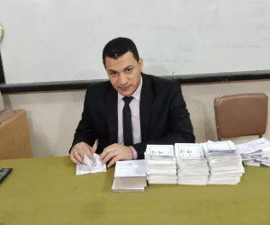 نتائج أولية لانتخابات الرئاسة 2018.. لجنة 5 بكفر الشيخ: السيسى 124278 صوتا وموسى 2292