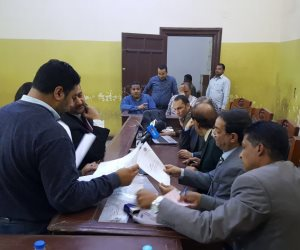 نتائج أولية لانتخابات الرئاسة.. 851 ألفا للسيسى و25 ألفًا لموسى بلجان سوهاج