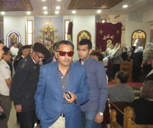 """""""لاستقبال عيد القيامة"""".. مدير أمن الإسماعيلية يراجع لجراءات تأمين الكنائس (صور)"""