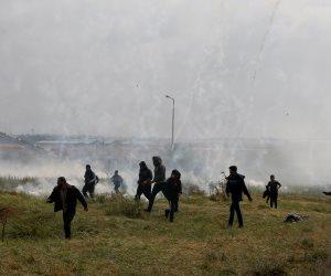 استشهاد فلسطينى بنيران إسرائيلية على حدود غزة