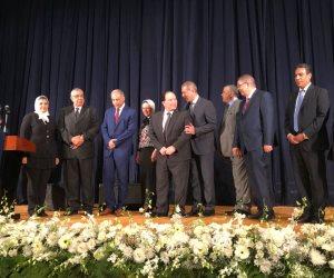 صديق عفيفي: النهضة أول جامعة تنضم لمسيرة مكافحة الإرهاب