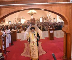 البابا تواضروس يصلي «خميس العهد» في دير مارمينا العجايبي