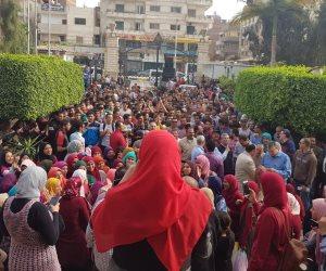 المصريون يتوافدون على ميادين القاهرة للاحتفال بفوز السيسي