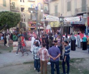 سوهاج تحتفل.. فوز الرئيس السيسي يشعل حماس الصعايدة (صور)