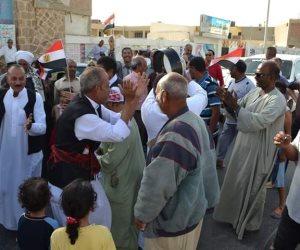 القصير تحتفل بفوز الرئيس السيسي في الانتخابات الرئاسية (صور)