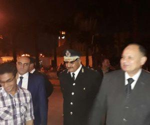 مدير أمن الجيزة يجري جولة لتفقد الحالة الأمنية (صور)