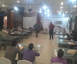 قطار «أبدأ مشروعك» يتوقف في محطة جديدة لـ«المصرية للابداع والتنمية»