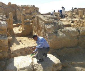 اكتشاف جزء من معبد يعود للعصر اليوناني في واحة سيوة (صور)