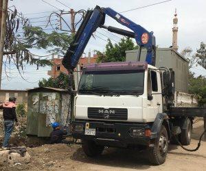 رفع كفاءة أكشاك ومحولات الكهرباء بالحامول وبعض قرى كفرالشيخ