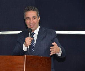 المتحدث العسكري السابق يشارك في ندوة «تحديات المستقبل» بجامعة مصر (صور)