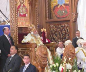 البابا تواضروس يترأس قداس عيد القيامة المجيد (فيديو وصور)