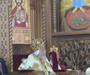 الكنيسة الإنجيلية تحتفل بعيد القيامة فى كنيسة مصر الجديدة الإنجيلية بدون حضور