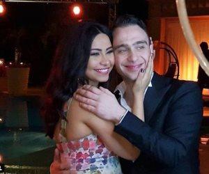 حسام حبيب يغني مع شيرين في أولى حفلاتها بعد زواجهما فى المغرب (فيديو)