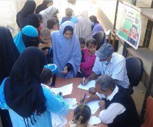 «صحة البحيرة»: قافلة علاجية لأهالي قرية علقام بمركز دمنهور