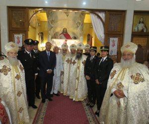 وفد «حقوق إنسان الداخلية» يزور كنائس القاهرة لتقديم التهنئة بعيد الميلاد
