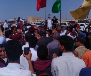 مؤتمر جماهيري حاشد بالضبعة للاحتفال بفوز السيسي بولاية ثانية (صور)