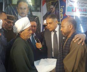 مدير أمن سوهاج يشهد إنهاء خصومة ثأرية بين عائلتين في دار السلام (صور)
