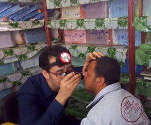 قافلة جامعة المنوفية تكشف على 1000 مريض بالواحات البحرية  (صور)