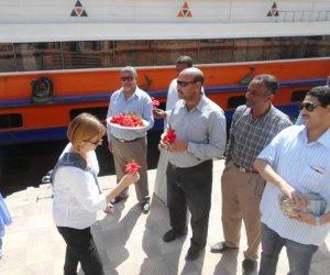 وصول 86 سائحا إلى مرسى البلينا بسوهاج لزيارة المناطق الأثرية (صور)