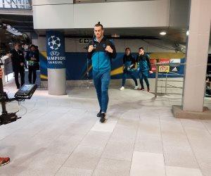 شاهد.. وصول لاعبي ريال مدريد لمواجهة يوفنتوس بدوري الأبطال (صور)