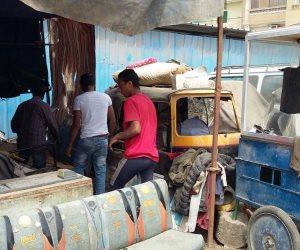 تطوير 3 ميادين في حي غرب القاهرة ورفع إشغالات شارع مسطرد القديم