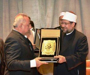 وزيرالأوقاف يكرم محافظ الشرقية تقديرا لمجهوداته