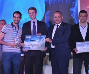 حسام عبد الحي وخالد عبد الناصر يحصدا المركز الأول والثاني بالنسخة الـ 9 لمسابقة مختبر الشهرة