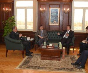محافظ الإسكندرية والمستشار الثقافي الصيني يبحثان سبل التعاون (صور)
