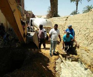 مياه القناة تنتهي من أعمال إصلاحات بمحطتي «فناره وجنيفه» بفايد في الإسماعيلية