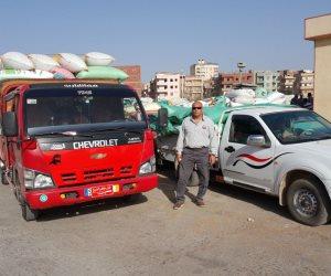 25 منفذاً بكفر الشيخ يستقبل 477 طناً من القمح