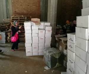 ضبط معمل أدوية غير مرخص داخل مصنع عصير في الدقهلية (صور)