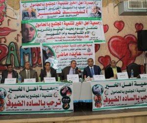 محافظ كفر الشيخ يكرم 200 طفل يتيم و9 من أمهات الشهداء بالحامول (صور)