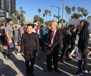 من الأذان أمام البيت الأبيض والتقاط الصور مع ترامب وكيم يونج بدولار إلى سهرات بوشطن وشرطة الآيس كريم(صور )