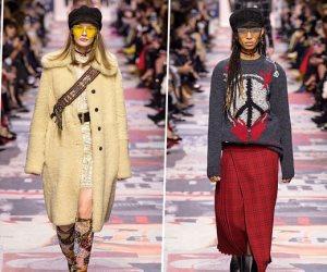 ديور تطلق مجموعتها الجديدة بالكاروه والشيفون وحملات الصدر وتبدع في صرعات الموضة