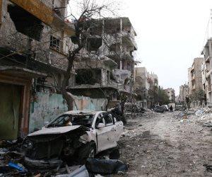 اختلاف حول أسباب انفجارات محيط مطار حماة السوري.. ونشطاء: غارات إسرائيلية