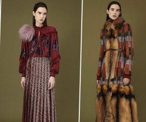 """الموضة الفرنسية  تتألق بتصميمات """"جيل مندل"""" بالقطيفة والشراشيب"""