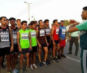 الشباب والرياضة تنظم سباق اختراق الضاحية للناشئين بالوادى الجديد