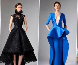 المصمم اللبناني «أدوارد أرسوي» يعود بأزياء مجموعته الجديدة للزمن الجميل