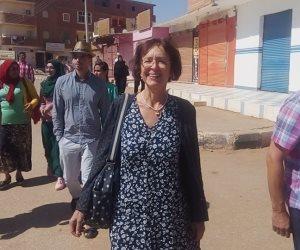 سفيرة التشيك تتفقد المشروعات الخيرية لمرضى السرطان بالداخلة