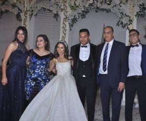 هشام عباس يشعل زفاف «ديفيد» (صور)
