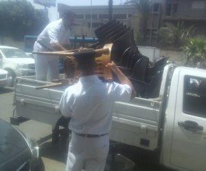 شعار مديرية أمن القاهرة في حملة مكبرة «العاصمة بلا إشغالات» «صور»