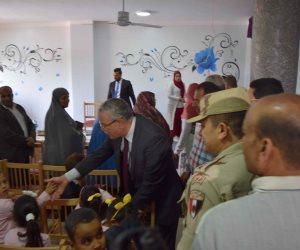 محافظ المنيا يفتتح مؤسسة المصطفى للبنين لرعاية الأيتام