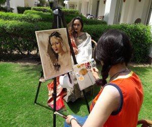 تواصل فعاليات «ملتقى سيناء الدولى للفنون» بشرم الشيخ (صور)