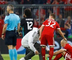 15 دقيقة.. التعادل السلبي يسيطر علي مواجهة ريال مدريد و البايرن في ليلة الأبطال (صور)