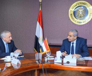 «الصناعة»: مصر تطبق بحزم إجراءات ضمان جودة اللحوم المستوردة من الذبح وحتى الموانئ