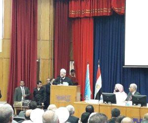 وزير الأوقاف: لابد تفعيل الاقتصاد الإسلامى وتطبيقه في القضايا المعاصرة (صور)