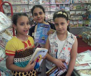 إقبال كبير لأطفال وطلبة المدارس على معرض دسوق الخامس للكتاب «الصور»