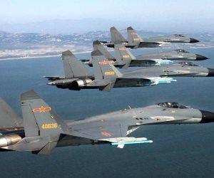 سلاح الجوى الصينى يجرى تدريبات حول تايوان