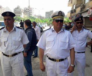 مدير أمن الجيزة يقود حملة إشغالات بشوارع الهرم والملك فيصل (صور)